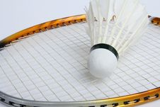 Free A Badminton Is Sport Game. Royalty Free Stock Photo - 20716575