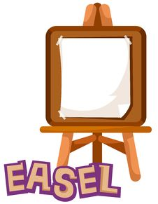 Free Easel Stock Photos - 20717733
