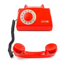 Free Telephone And Receiver Stock Photography - 20717862