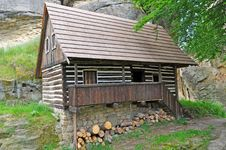 Free Log House Royalty Free Stock Photography - 20718297