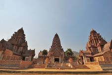 Free Ancient Thai Buddhist Temple Royalty Free Stock Image - 20718796