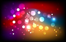 Free Sparkling Magic Background Royalty Free Stock Photos - 20719508