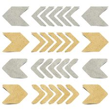 Free Arrow Recycled Paper Craft Royalty Free Stock Photos - 20719628