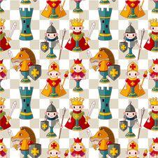 Free Cartoon Chess Seamless Pattern Stock Photo - 20719720