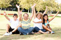 Free Young Family Having Fun In Park Royalty Free Stock Photos - 20725268
