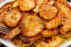 Free Fried Zucchini Stock Image - 20720261