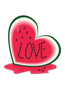 Free Slice Of Watermelon Royalty Free Stock Photos - 20720328