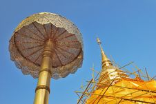 Free Closeup Of Golden Stupa Royalty Free Stock Photos - 20720358