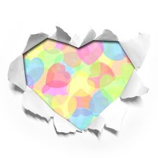 Free Heart Shape Paper Stock Photos - 20720983