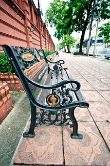 Free Vintage Bench Royalty Free Stock Photos - 20721978