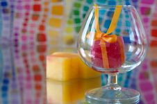 Free Colorful Ice Cubes Royalty Free Stock Photo - 20722185