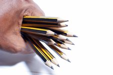 Free Clutch Pencils Royalty Free Stock Photo - 20723755
