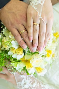 Free Wedding Bouquet Royalty Free Stock Photo - 20724135