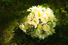Free Wedding Bouquet Royalty Free Stock Images - 20724139