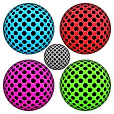 Color Sphere Objects Royalty Free Stock Image