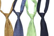 Necktie Set Stock Image