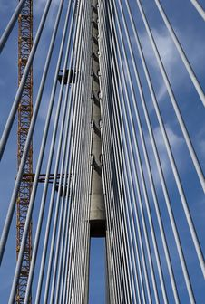 Free Pylon Of The Bridge Royalty Free Stock Photography - 20724767