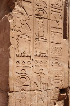 Free Karnak Temples Columns Stock Image - 20725851