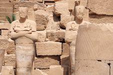 Free Statue Of Pharaohs Royalty Free Stock Image - 20725886