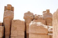 Free Statue Of Pharaohs Royalty Free Stock Image - 20725906