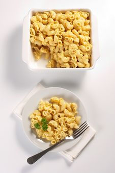 Free Macaroni And Cheese Stock Images - 20726494