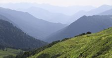 Free Panorama Of Mountains Edges Stock Image - 20726871