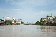 Free Ayutthaya From Water Royalty Free Stock Photography - 20727197