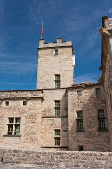 Free Barroux Castle Royalty Free Stock Photos - 20727268
