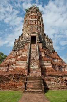 Free Ancient Thai Temple Royalty Free Stock Photography - 20727337
