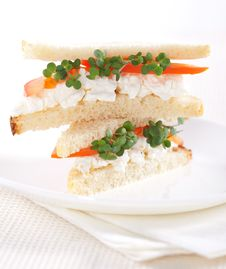 Free Vegetarian Sandwiches Royalty Free Stock Images - 20727349