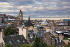 Free Edinburgh Cityscape Royalty Free Stock Photography - 20727507