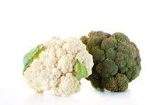 Free Broccoli And Cauliflower Stock Image - 20727731