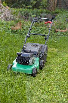 Free Lawnmower Stock Photography - 20728172