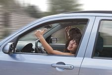 Free Happy Couple Driving Stock Images - 20728304