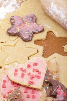 Free Christmas Cookies Royalty Free Stock Photography - 20728367