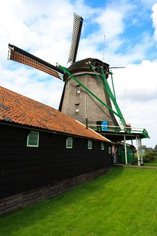 Free Windless Side Of The Windmill Stock Photography - 20729022