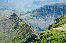 Free Lake District, Striding Edge Royalty Free Stock Images - 20729389