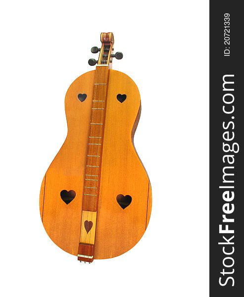 Musical instrument isolated