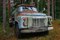 Free Old Tank Truck Royalty Free Stock Image - 20732806