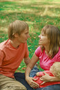 Free Loving Family In Summer Nature Stock Photography - 20734392