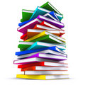 Free A Stack Of Colorful Books Stock Photography - 20739282