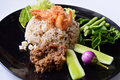 Free Spicy Fried Rice With Shrimp Royalty Free Stock Photos - 20739538