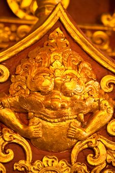Free Thai Art Royalty Free Stock Image - 20730206