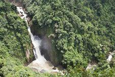 Free River Basin Haew Narok, Thailand Royalty Free Stock Images - 20730969