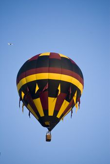 Free Red, Black And Yellow Balloon Royalty Free Stock Photo - 20731045