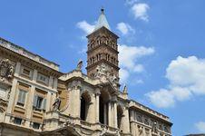 Free Santa Maria Maggiore Church In Rome Stock Photography - 20731282