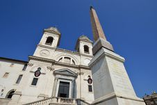 Free Church Trinita Del Monti In Rome Stock Images - 20731314