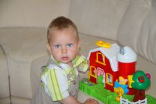 Free Portrait Of A Baby S Gambling Royalty Free Stock Images - 20731499