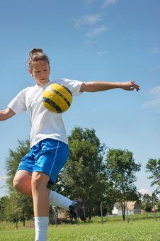 Free Soccer Training Royalty Free Stock Image - 20731606