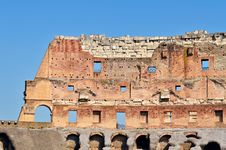 Free Wall Of Colosseum Stock Image - 20732211